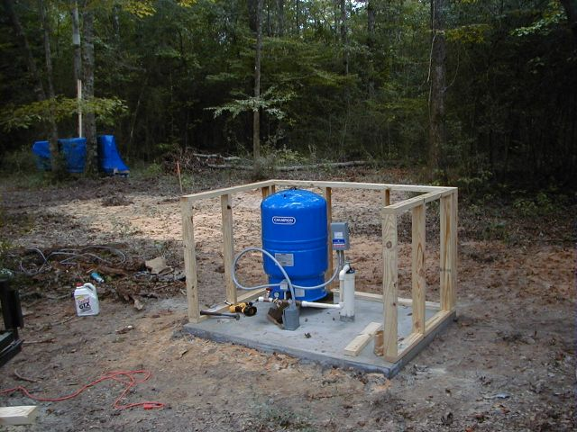 Build a Well House http://www.marxrv.com/homebase/build2.htm